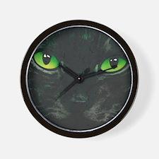 Black Cat Nebula by Lori Alexander Wall Clock