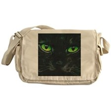 Black Cat Nebula by Lori Alexander Messenger Bag