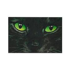 Black Cat Nebula by Lori Alexande Rectangle Magnet