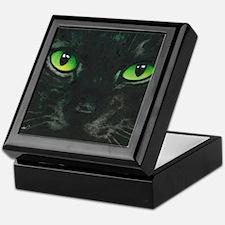 Black Cat Nebula by Lori Alexander Keepsake Box