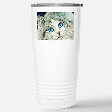 Ragdoll Cat Michelle by Lori Al Stainless Steel Tr