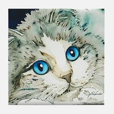 Ragdoll Cat Michelle by Lori Alexande Tile Coaster