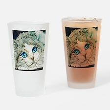 Ragdoll Cat Michelle by Lori Alexan Drinking Glass