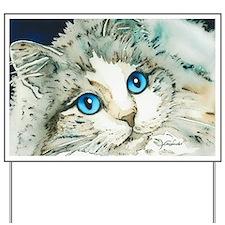 Ragdoll Cat Michelle by Lori Alexander Yard Sign