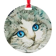 Ragdoll Cat Michelle by Lori Alexan Ornament
