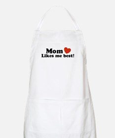 Mom Likes Me Best BBQ Apron