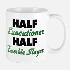 Half Executioner Half Zombie Slayer Mugs