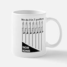Trombone T-Shirt Front Mugs