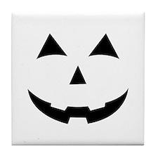 Jack O Lantern Tile Coaster