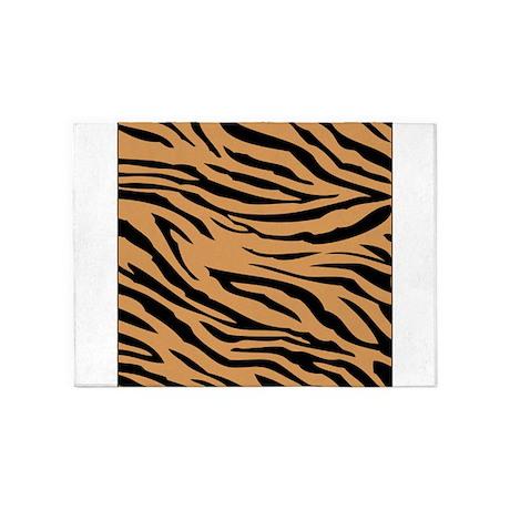 Tiger Stripes 5u0027x7u0027Area Rug