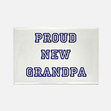 Proud New Grandpa Rectangle Magnet