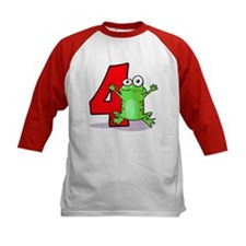4th Birthday Froggy Tee