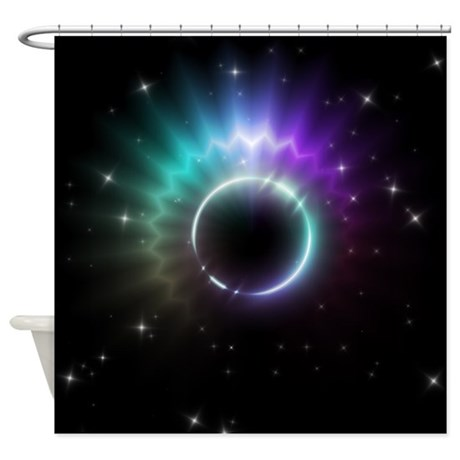 Mystic Prisms - Sun - Shower Curtain