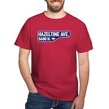 Hazeltine Ave., Los Angeles - USA T-Shirt