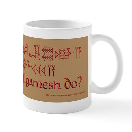 What Would Gilgamesh Do? Mug