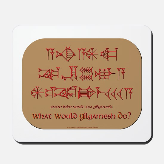 What Would Gilgamesh Do? Mousepad