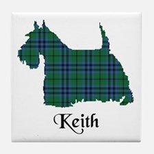 Terrier - Keith Tile Coaster