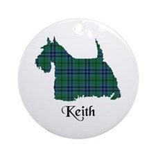 Terrier - Keith Ornament (Round)