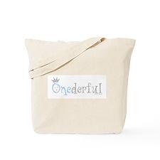 Onederful (boy) Tote Bag