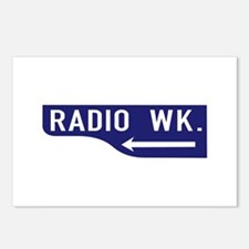 Radio Wk., Los Angeles - USA Postcards (Package o