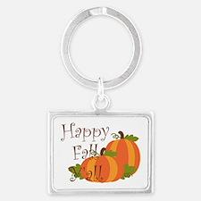 Happy Fall Y'all Keychains
