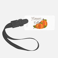 Happy Fall Y'all Luggage Tag
