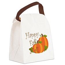 Happy Fall Y'all Canvas Lunch Bag