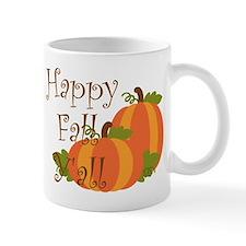 Happy Fall Y'all Mugs
