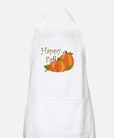Happy Fall Y'all Apron