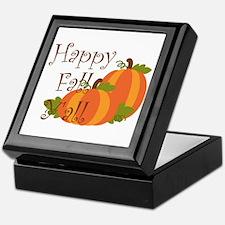 Happy Fall Y'all Keepsake Box
