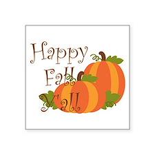 Happy Fall Y'all Sticker