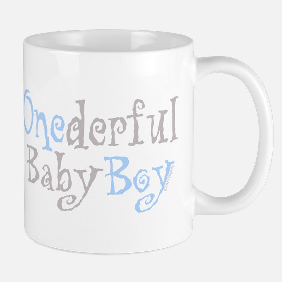 Onederful Baby Boy Mug