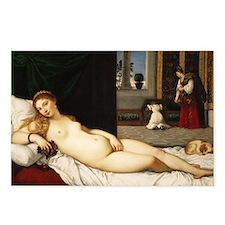 Venus of Urbino (by Titian) Postcards (Package of