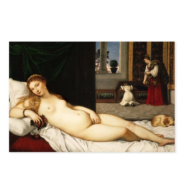 the venus of urbino Toward the beginning of his career titian had brought to completion giorgione's unfinished canvas of a nude venus asleep in a landscape some twenty-five years later.