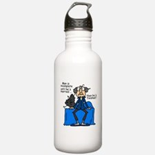 Men and Marriage Water Bottle