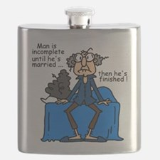 Men and Marriage Flask