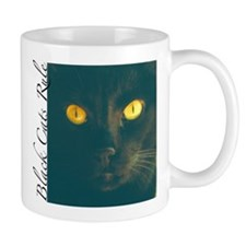 Black Cats Rule Mug