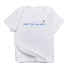 Baby's First Hanukkah Infant T-Shirt