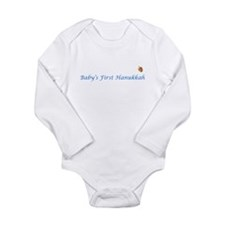 Baby's First Hanukkah Long Sleeve Infant Bodysuit