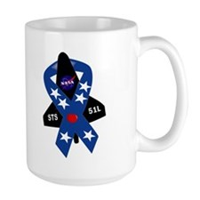 Challenger Commemorative Patch Mug