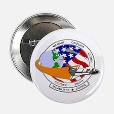 "STS-52L Challenger's Last 2.25"" Button"