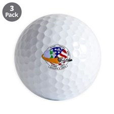 STS-52L Challenger's Last Golf Ball
