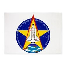 STS-52 Columbia 5'x7'Area Rug