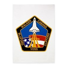 STS-53 Discovery 5'x7'Area Rug