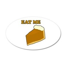 Eat Me Pie Wall Decal