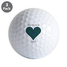 Heart - Keith Golf Ball
