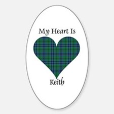 Heart - Keith Decal