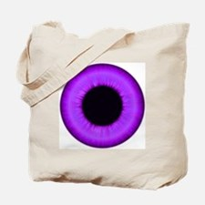 Halloween Purple Eye Tote Bag
