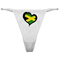 Jamaica One Heart Classic Thong