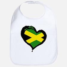 Jamaica One Heart Bib
